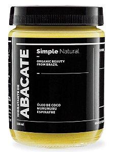 Simple Organic Hidratante de Abacate 150ml