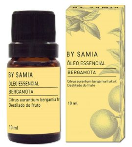 By Samia Óleo Essencial de Bergamota 10ml
