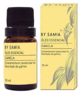 By Samia Óleo Essencial de Canela 10ml