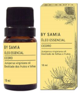 By Samia Óleo Essencial de Cedro 10ml
