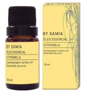 By Samia Óleo Essencial de Citronela 10ml