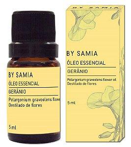 By Samia Óleo Essencial de Gerânio 5ml