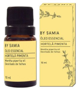 By Samia Óleo Essencial de Hortelã Pimenta 10ml