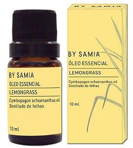 By Samia Óleo Essencial de Lemongrass (Capim Limão) 10ml