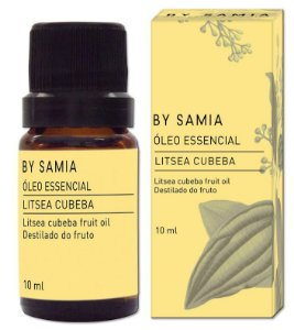 By Samia Óleo Essencial de Litsea Cubeba (May Chang) 10ml