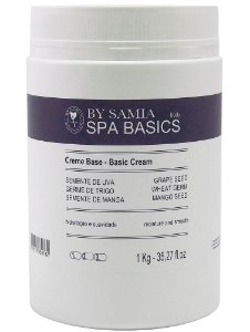 By Samia Spa Basic Creme Base Neutro com Óleos Vegetais 1kg