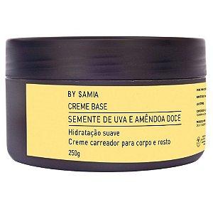By Samia Creme Base Neutro com Óleo de Semente de Uva 250g
