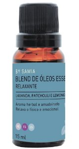 By Samia Relaxante Blend de Óleos Essenciais 15ml