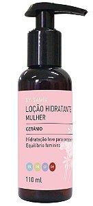 By Samia Mulher Loção Hidratante Gerânio 110ml