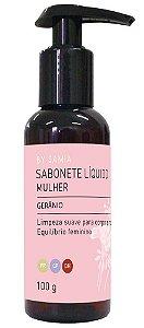 By Samia Mulher Sabonete Líquido Gerânio 100g