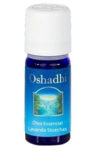 Oshadhi Óleo Essencial de Lavanda (Stoechas) Orgânico 5ml