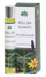WNF Óleo Roll-on Relaxante Arnica e Lavanda 10ml