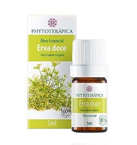 Phytoterapica Óleo Essencial de Erva Doce / Funcho 5ml