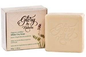 Glory By Nature Sabonete Argila Branca 80g