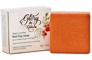 Glory By Nature Sabonete Argila Vermelha 80g