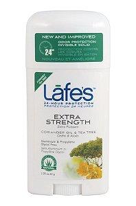 Lafe's Desodorante Twist Extra Strength Coentro e Tea Tree 64g