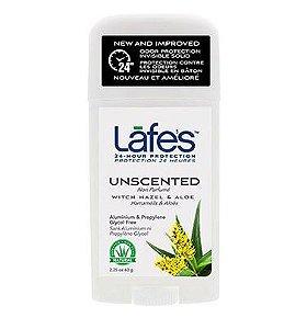 Lafe's Desodorante Twist Unscented Sem Perfume 63g