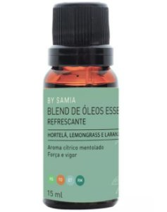 By Samia Refrescante Blend de Óleos Essenciais 15ml