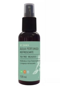 By Samia Refrescante Água Perfumada Tea Tree 120ml