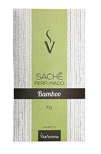 Via Aroma Sachê Perfumado Bamboo 10g