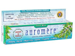 Auromere Fresh Mint Creme Dental Ayurvédico 117g