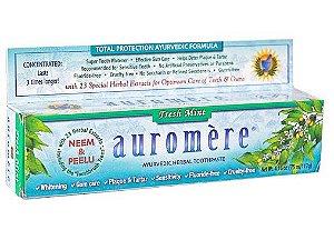 Auromere Fresh Mint Creme Dental Ayurvédico 117g