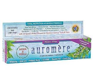 Auromere Mint-Free Creme Dental Ayurvédico 117g