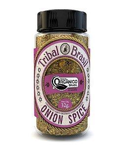 Tribal Brasil Onion Spice Condimento Misto Orgânico 32g