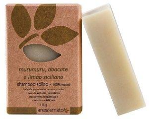 Ares de Mato Shampoo Sólido Murumuru, Abacate e Limão Siciliano 115g