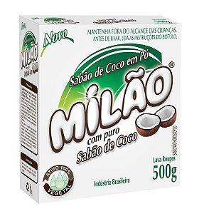 Milão Sabão de Coco em Pó Lava Roupas