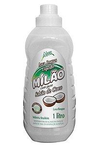 Milão Sabão de Coco Líquido Lava Roupas 1 litro