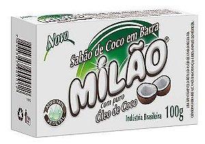 Milão Sabão de Coco em Barra 100g
