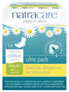 Natracare Absorvente Ultra Pads Regular com Abas 14 un