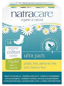 Natracare Absorvente Ultra Pads Regular com Abas 14 un