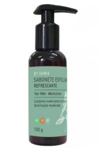 By Samia Refrescante Sabonete Líquido Esfoliante Tea Tree 100g