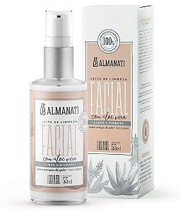 Almanati Leite de Limpeza Facial com Aloe Vera 55ml