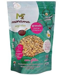 Monama Granola Aveia e Açúcar Mascavo - Orgânica e Sem Glúten 280g
