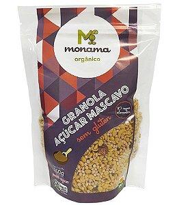 Monama Granola com Açúcar Mascavo - Orgânica e Sem Glúten 250g