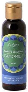 Extrato Oleoso de Camomila Orgânico 60ml - Cativa Natureza