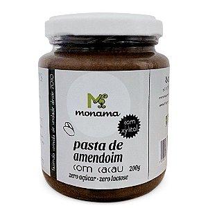 Monama Pasta de Amendoim com Cacau e Xylitol 200g