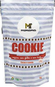 Monama Cookies Cacau e Canela Orgânico 90g