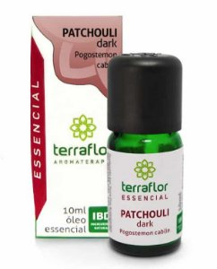 Terra Flor Óleo Essencial de Patchouli Dark 10ml