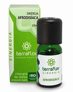 Terra Flor Sinergia Afrodisíaca com Óleos Essenciais 10ml