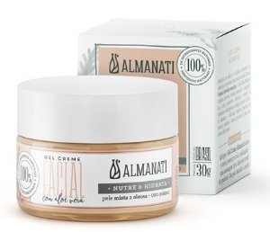 Almanati Gel Creme Facial com Aloe Vera 30g