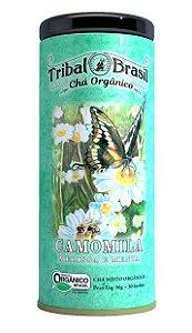 Tribal Brasil Chá de Camomila, Melissa e Menta Orgânico Lata 30 Sachês