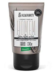 Almanati Homem Creme Facial com Aloe Vera 30g