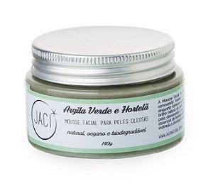 Jaci Natural Mousse Facial Argila Verde e Hortelã - Pele Oleosa 140g