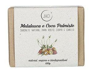 Jaci Natural Sabonete Melaleuca e Coco Palmiste 100g