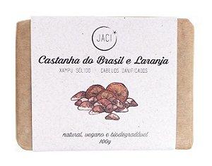 Jaci Natural Sabonete Castanha do Brasil e Laranja 100g