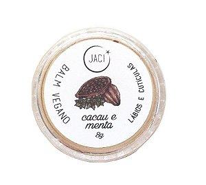 Jaci Natural Balm Cacau e Menta - Lábios e Cutículas 8g